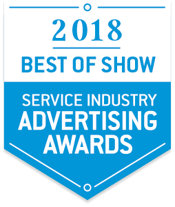 PPO&S won 2018 Best of Show for Service Industry Advertising Awards