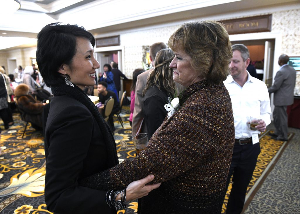Ginny with PA Rep. Patty Kim.