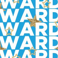 """Graphic of multiple lines with """"Awards"""" and gold-glitter stars sprinkled throughout."""